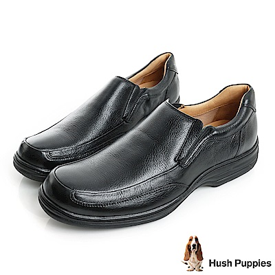 Hush Puppies BULLMATIAN 舒適紳士便鞋-黑