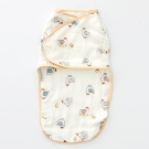 奇哥  竹纖維紗布子宮包巾-快樂小雞