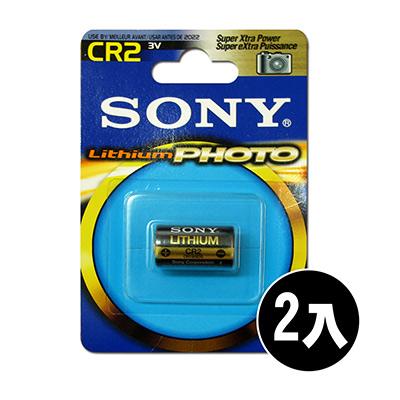 SONY CR2 CR2A 一次性鋰電池 3V 拍立得 Mini 25 50適用 (2入)