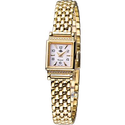 Rosemont 玫瑰錶諾依斯特系列 時尚錶-白x金色/16x19mm