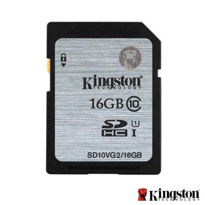 Kingston 金士頓 16GB 80MB/s U1 SDHC UHS-I 記憶卡