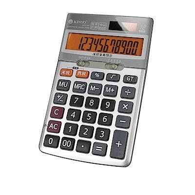 KINYO桌上型稅率計算機(KPE-589)