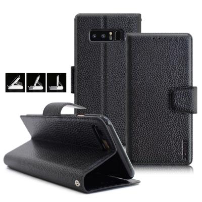 XM Samsung Galaxy Note 8 品味時尚牛皮支架皮套