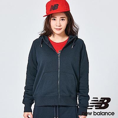New Balance 連帽外套 AWJ81550BK 女性黑色