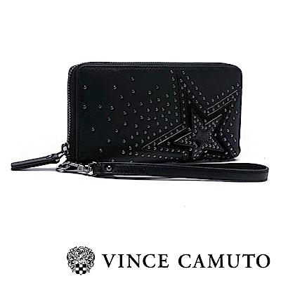 Vince Camuto 圓鉚釘漸層星星長夾-黑色