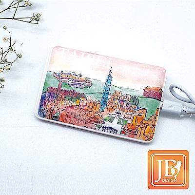 JB Design-文創行動電源 6400 mah- 609 _春意台北