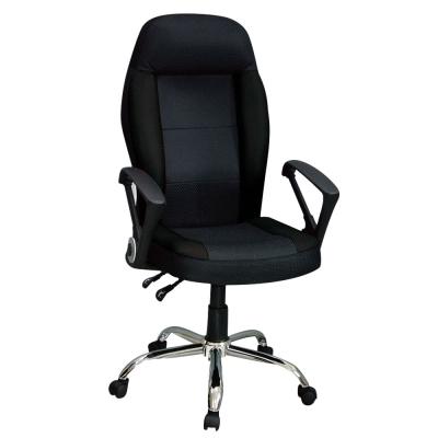 Bernice-伊格人體工學電腦辦公椅-黑色-48x55x124cm