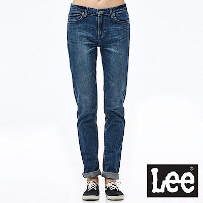 Lee 牛仔褲 409中腰合身窄管牛仔褲- 女款