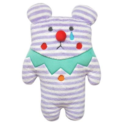 CRAFTHOLIC 宇宙人 馬戲團條紋熊寶貝枕