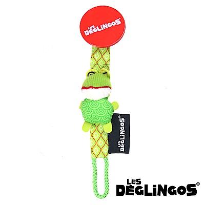 Les Deglingos 立體玩偶奶嘴夾-青蛙 (CROAKos)