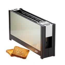 德國原裝 ritter volcano 5 晶湛強化玻璃(透白) 烤麵包美型機