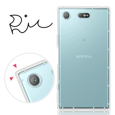 RedMoon Sony Xperia XZ1 Compact 防摔氣墊透明TPU手機殼