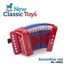 【荷蘭New Classic Toys】幼兒手風琴玩具-活力紅