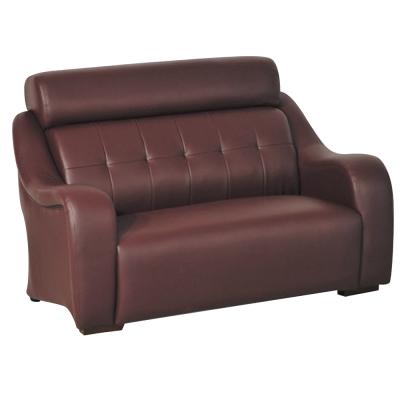 雙人座沙發 安琪拉 酒紅皮革 品家居