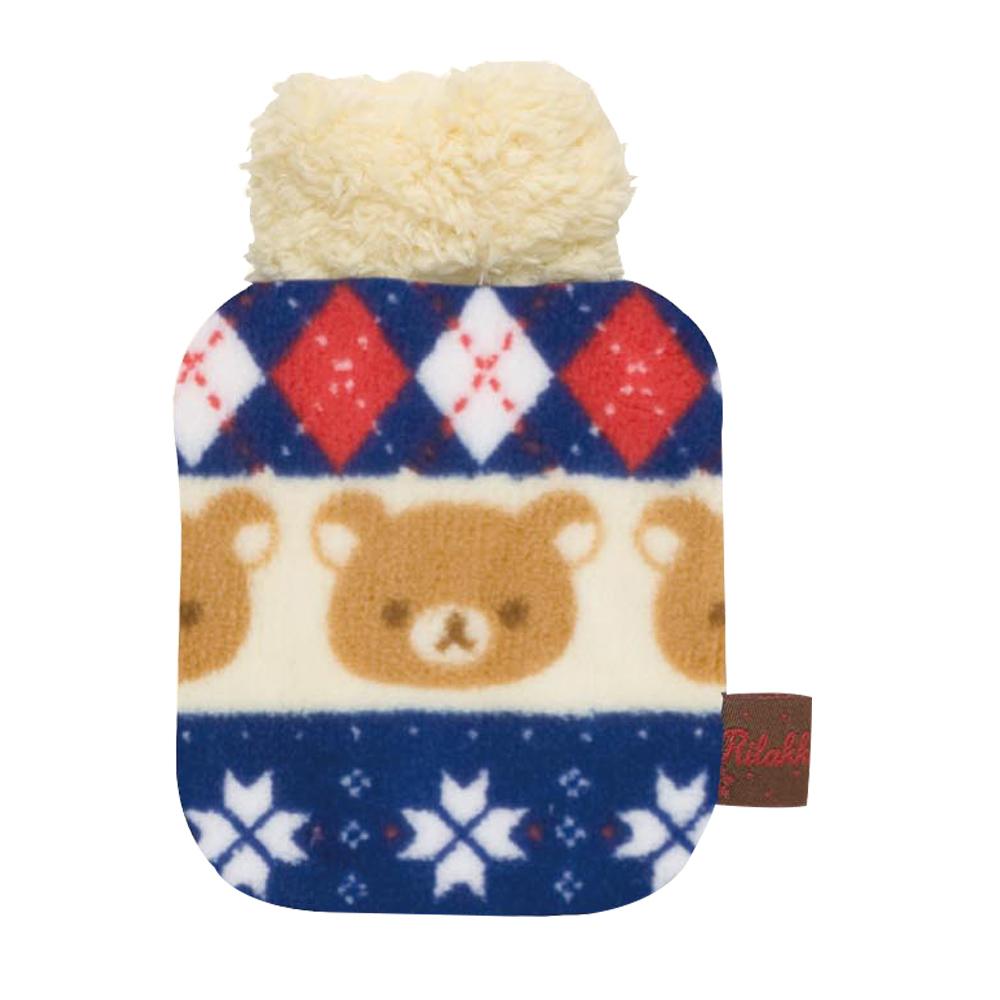 拉拉熊可愛北歐風系列毛絨暖暖包。懶熊