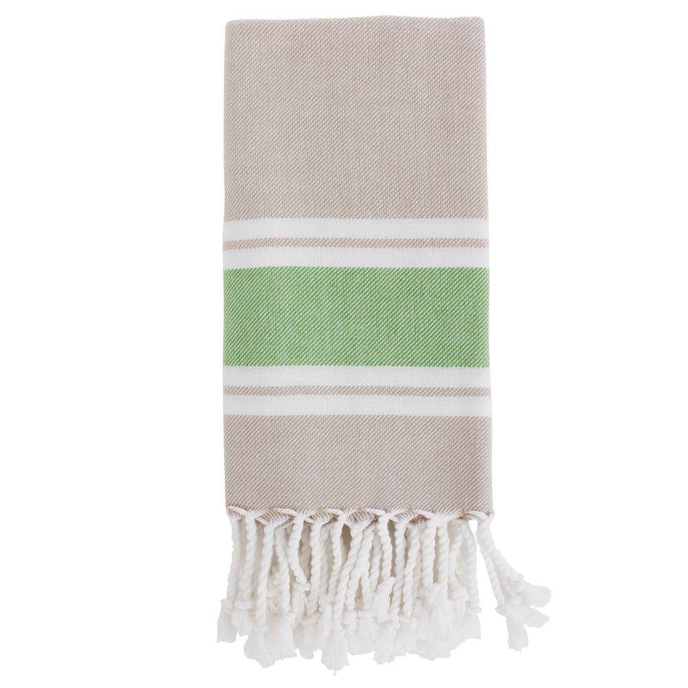 TAMA 天然純淨頂級土耳其手工毛巾(慵懶草綠)