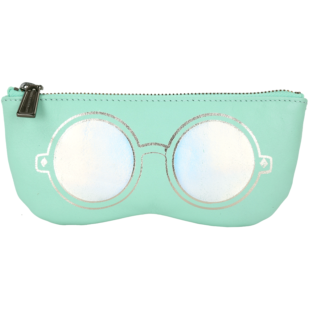 Rebecca Minkoff Mirrored Sunnies 眼鏡造型萬用包(薄荷綠) @ Y!購物