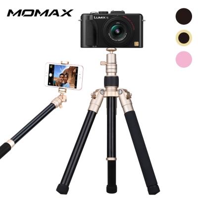 MOMAX PRO6 鋁合金多功能直播自拍三腳架-130cm
