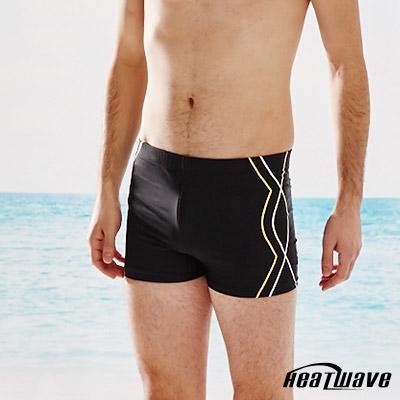 Heatwave熱浪 加大男泳褲 二分平口褲-金典風