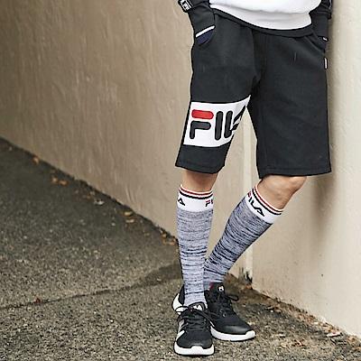 FILA #東京企劃 針織短褲-黑1SHS-1410-BK