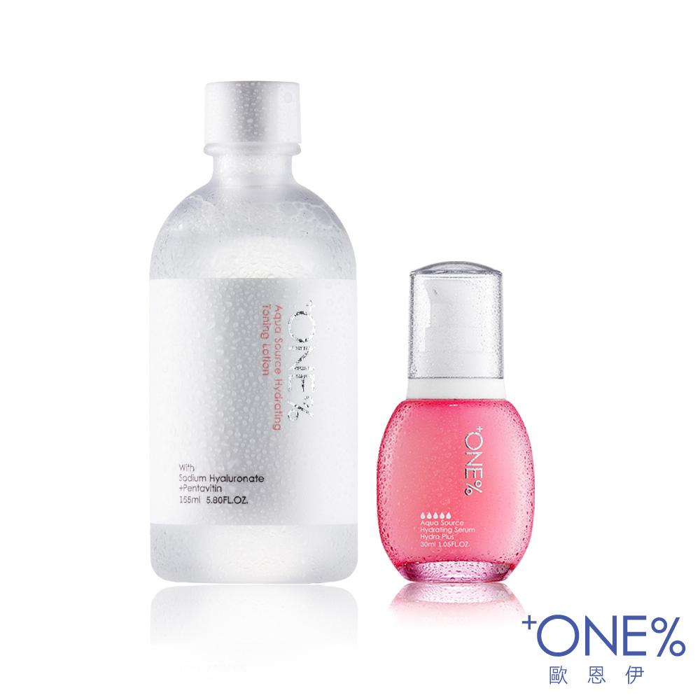 ONE%歐恩伊 微元素奇蹟保濕精華液(極潤型) 30ml 微元素保濕化妝水165ml