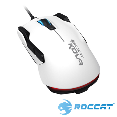 ROCCAT NEW KOVA 光學電競滑鼠-白