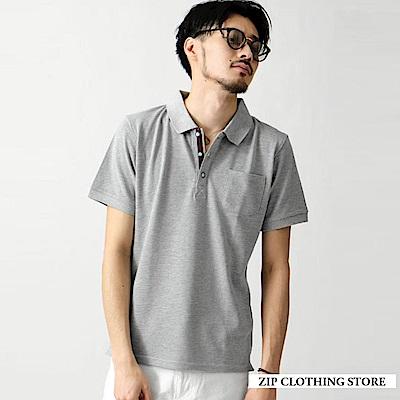 機能款速乾吸水POLO衫(20色) ZIP日本男裝