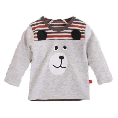 熊印花長袖T恤 k60231