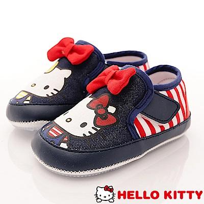 HelloKitty童鞋 軟軟學步款 18602藍紅 (寶寶段)