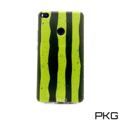 PKG 小米Max2彩繪空壓氣囊保護殼-浮雕彩繪-西瓜手機殼