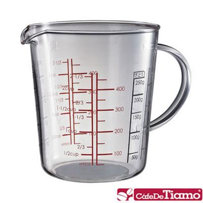 Tiamo 玻璃有柄量杯-500ml(HG2287)