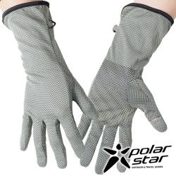 PolarStar 抗UV排汗中長翻指手套『灰』P17517