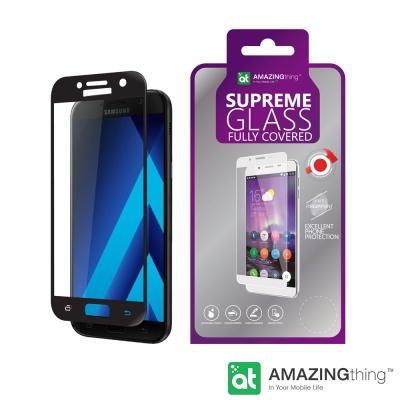 AmazingThing 三星 Galaxy A7-2017 滿版強化玻璃保護貼