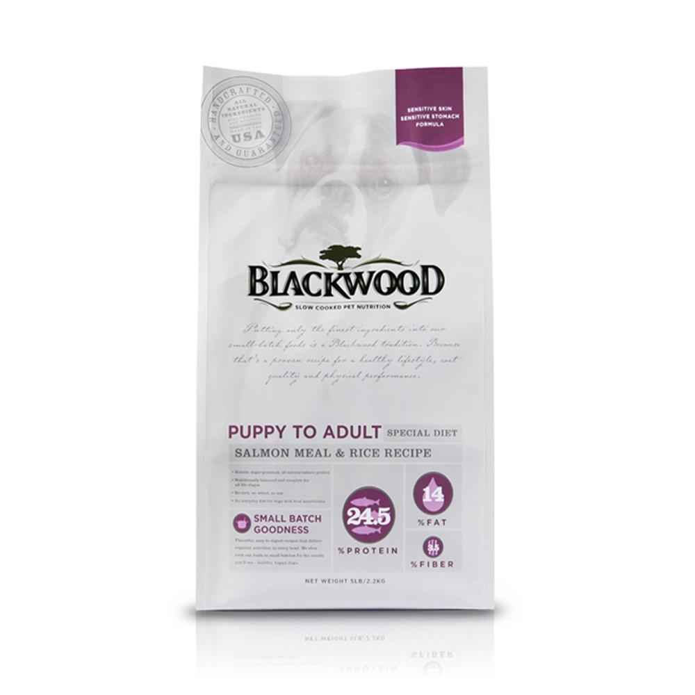 BlackWood 柏萊富 功能性全齡腸胃保健(鮭肉+米) 15磅 6.8公斤