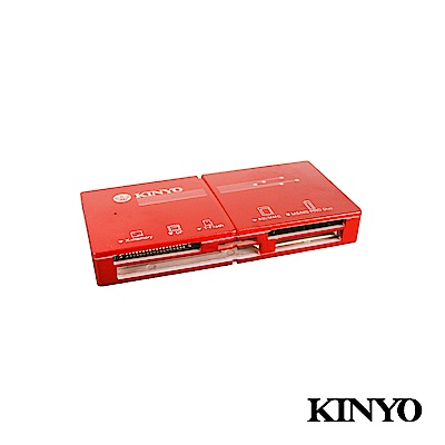 KINYO USB 3.0 極速輕薄讀卡機 (KCR-360)