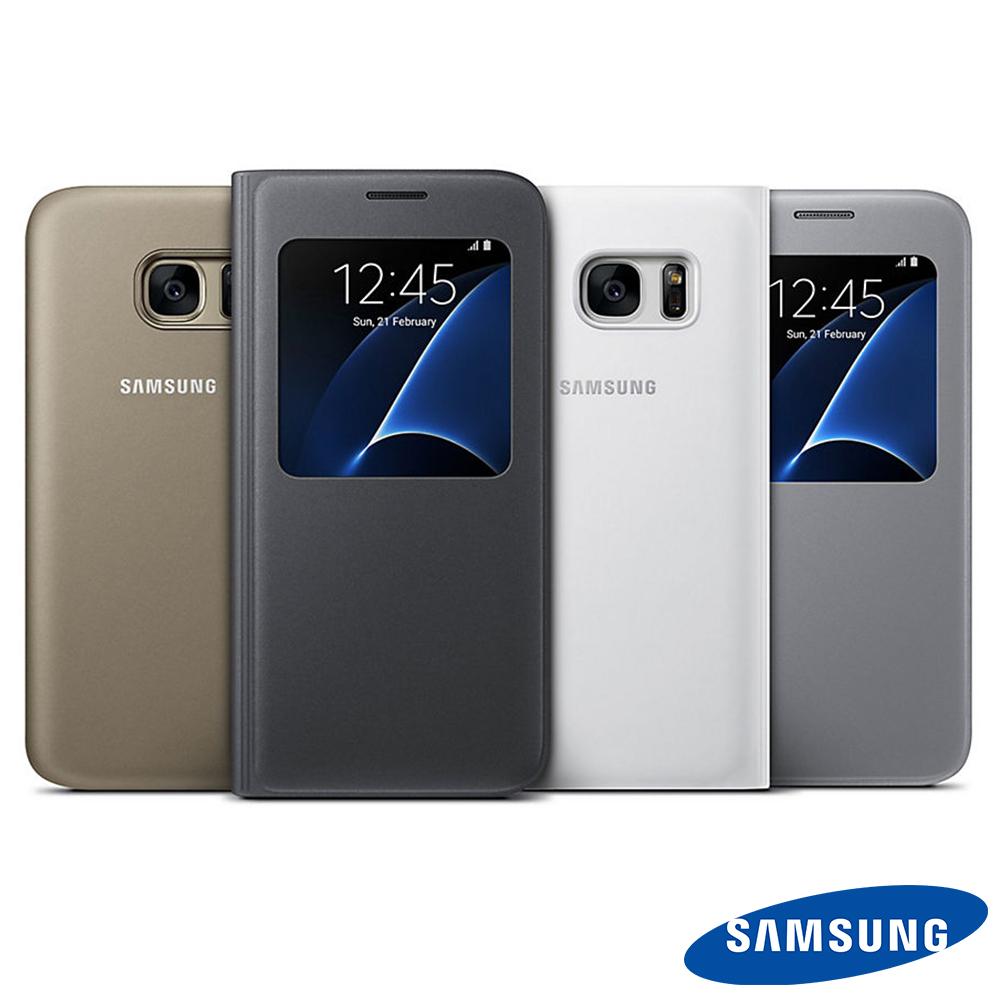 SAMSUNG Galaxy S7 S View原廠透視感應皮套