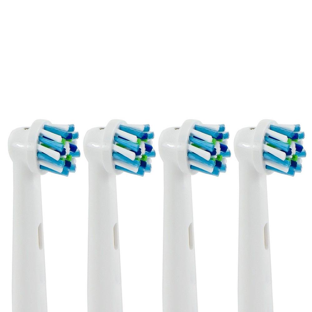 (1卡4入)副廠多動向交叉電動牙刷頭 EB50 (相容歐樂B 電動牙刷)