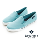 SPERRY 都會休閒輕量化直套式帆布鞋(藍綠色)