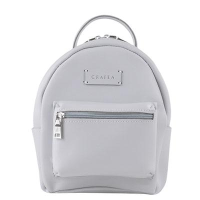 GRAFEA  Zippy Small Backpack - 手工牛皮簡約後背包(藍灰)