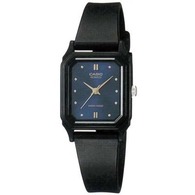 CASIO 輕便巧小運動指針錶(LQ-142E-2A)-藍面x黑-22mm