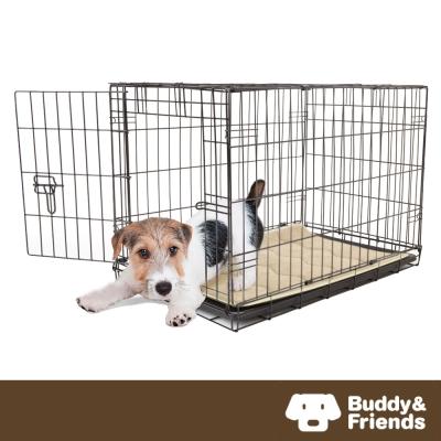 ~Buddy  Friends~寵物柔軟睡墊 亞麻色  56x86cm