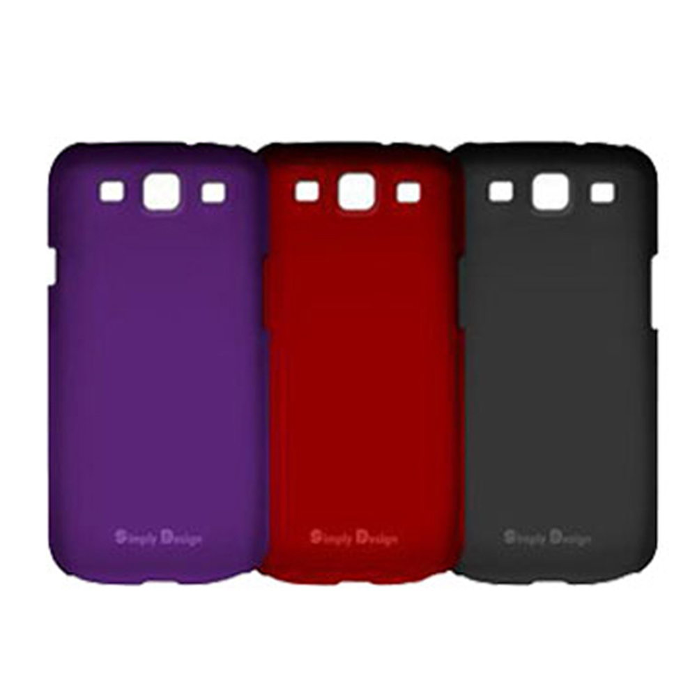 Simply Design Samsung Galaxy S3 皮革漆保護殼