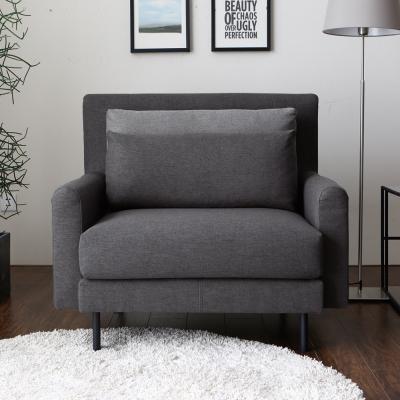 H&D INGRID英格利。舒適單人布沙發-2色