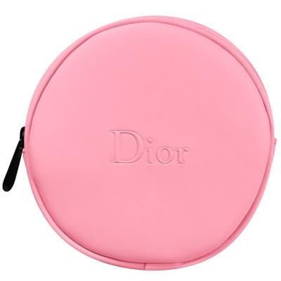 Dior迪奧 馬卡龍嫩粉圓盤美妝包