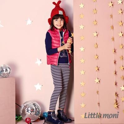 Little moni 休閒羅紋內搭褲  (共2色)