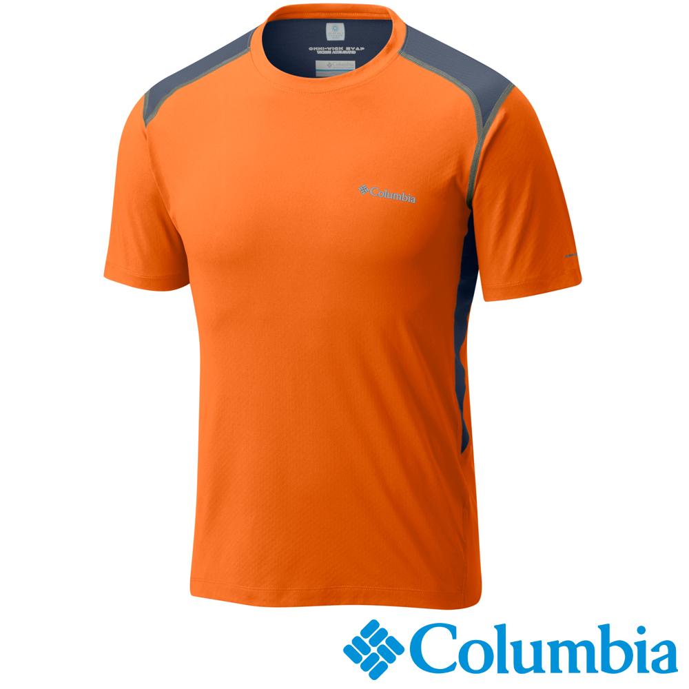 【Columbia哥倫比亞】男-酷涼快排防曬30短袖上衣  UAE62900OG