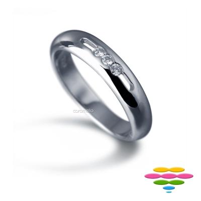 彩糖鑽工坊 鑽石戒指 諾言Promise系列