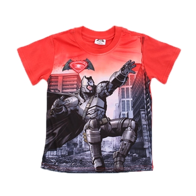 蝙蝠俠對超人正義曙光短袖T恤-k50097