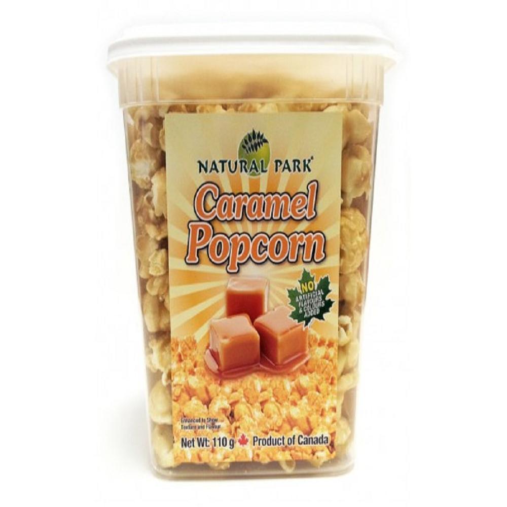 NATURAL PARK 加拿大焦糖爆米花-焦糖口味(110g)