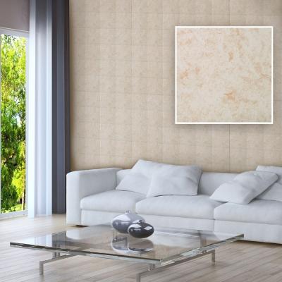 韓國進口DIY防水藝術瓷磚貼 壁貼 霧面杏M 10片